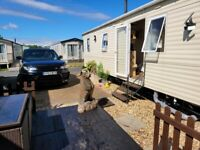 Satic caravan morecambe summer holiday with private hot tube and small park