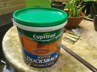 Cuprinol Ducksback - Autum Gold 9L