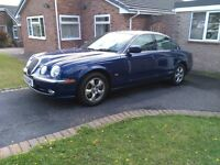 Jaguar S Type 2002 year 3.0 V6 petrol HPI clear LOW mileage cheap reliable car
