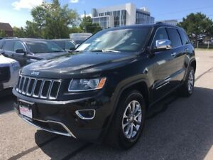 2014 Jeep Grand Cherokee 4WD 3.6L V6 8-Speed Auto Bluetooth Back