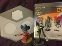 Disney Infinity 3.0 including portal and 2 figures