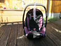 Recaro young profi plus baby infant car seat