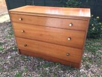 Retro wooden set of drawers, delivery available