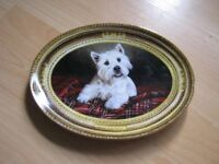 master of the tartan plate limited edition Franklin mint