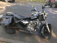Keeway Superlight 125cc 2014 plate