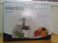 ElectriQ HSL 600 Slow Juicer High quality BPA Free