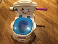 Fisher price singing potty