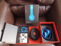Beats by Dr. Dre Solo HD On-Ear Headphones (Blue) Genuine