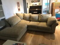 Collin and Hayes corner sofa and 2 seater and foot stool (can buy separately or together)