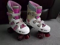 Phoenix Quad boot skates size 3