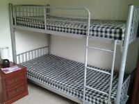 Metal bunkbeds good condition