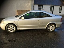 Vauxhall Astra coupe Low miles great car