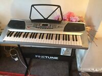 This is a brand new piano does work properly
