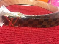 Lv belts Louis or Gucci new condition