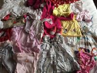 Large bags of baby clothes aged 0-9 months