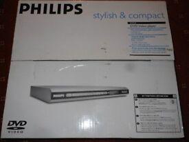 Philips dvd player DVP510 new