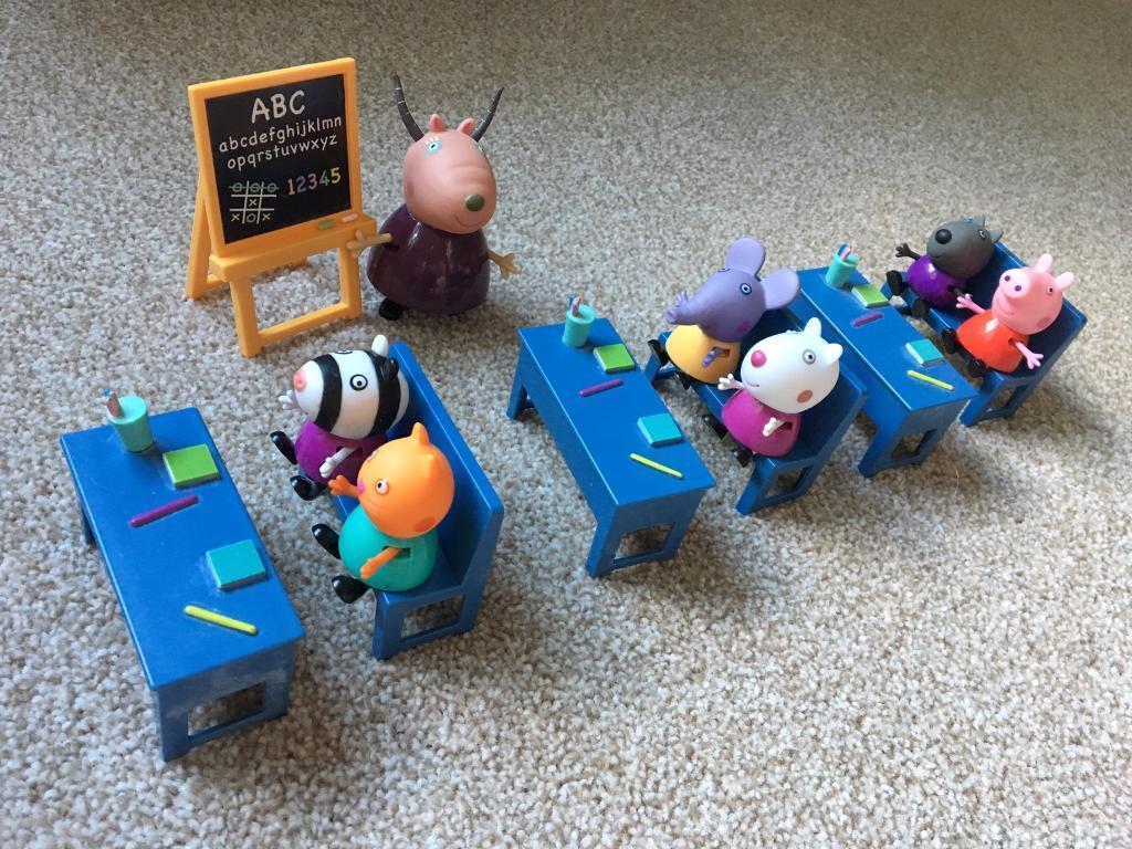 Peppa Pig school set