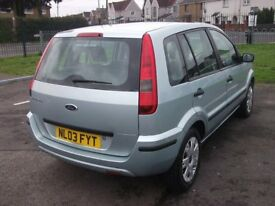 03 Ford Fusion 2. Brand New 12 Mths MOT £590