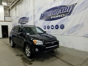 2010 Toyota RAV4 Limited W/ Leather, Sunroof, Intelligent Key