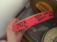 MIXED LOT of 1230ft 35mm Film Stock –Kodak Short Ends Motion Picture Film