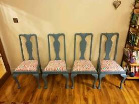 Dining Chairs - upcycled vintage