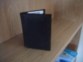 Man's Black Wallet