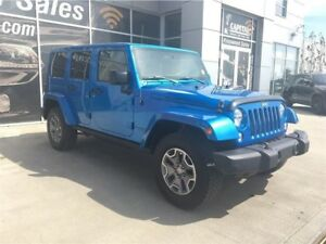 2014 Jeep Wrangler Unlimited|Rubicon|Leather|Heated Seats|Blueto