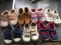 7 pair toddler shoes