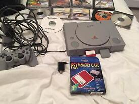PlayStation One with Games