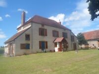 Farmhouse in Auvergne Region of France