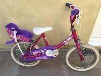 "Raleigh Lily 14"" bike"