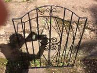 Iron path way gate