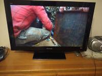 """Panasonic 37"""" TV Model TX-37LZD81 Freesat HD"""