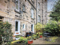 Particularly charming garden flat in the heart of Edinburgh's City centre