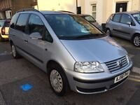 VW VOLKSWAGEN SHARAN 1.9 S DIESEL AUTOMATIC 2006 (56) 1 FORMER OWNER GOOD MILEAGE NEW SERVICE+BRAKE