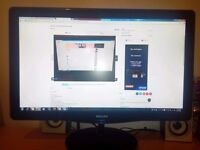 FULL HD 23 INCH MONITOR FOR SALE CHEAP SERIOUS BUYERS ONLY ASAP