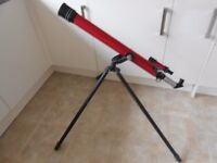 TASCO TELESCOPE MODEL 49TR WITH EXTRA LENSES IN GOOD CONDITION JUST A FEW LITTLE SCUFFS AND AGE