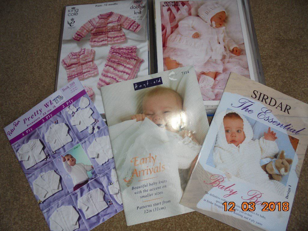 Large Quantity of Baby Clothes Knitting Patterns in good condition ...