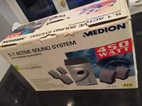 Medion 5.1 active surround sound system BNIB