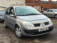Renault Scenic 1.6VVT 2004 + 12 MONTHS MOT + DRIVES SUPERB + NICE CONDITION