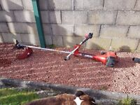 INDUSTRIAL PETROL STRIMMER WITH CUTTING DISC