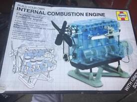 Haynes build your own internal combustion engine model