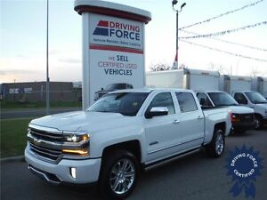 2016 Silverado 1500 High Country-Pearl White-8 Speed-Nav-Sunroof