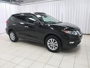 2018 Nissan Rogue SV AWD with SUNROOF, TOUCH SCREEN MONITOR, BLI