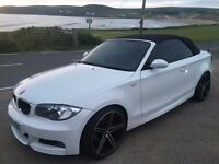 BMW 1 Series Convertible - M Sport - White - Lots of Extras