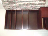 Polished dark wood dresser