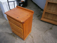 PINE CHEST OF DRAWERS IN YEOVIL SHABBY CHIC / UPCYCLE