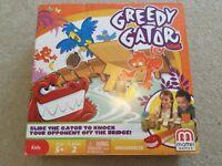 Greedy Gator game