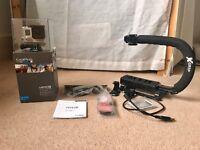GoPro Hero3+ Silver Edition Camcorder plus Extra GoPro tripod mounts & X-Grip Scorpion Grip