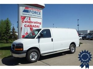 2015 GMC Savana Cargo Van Rear Wheel Drive - 16,582 KMs, 4.8L V8